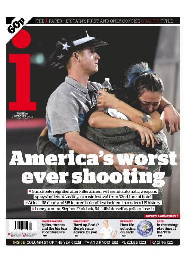 The i Newspaper  October 03 (2017)