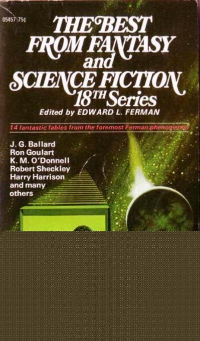 Edward L Ferman (ed) - The Best From Fantasy and Science Fiction 18 1969
