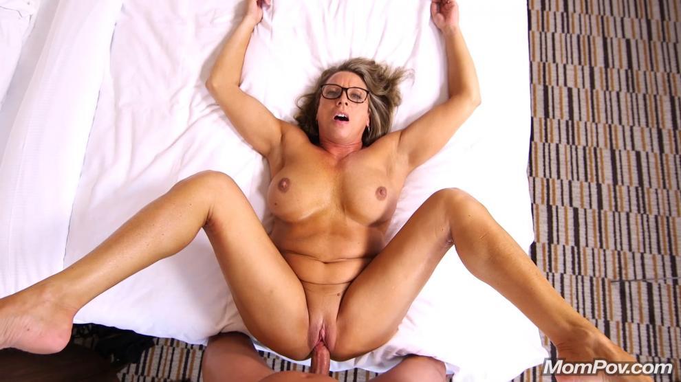 [MomPov.com] Becka - Fit Cougar loves cock [20.06.2019 г., All Sex, Blowjobs, POV, MILF, Big Tits, Facial, 404p]