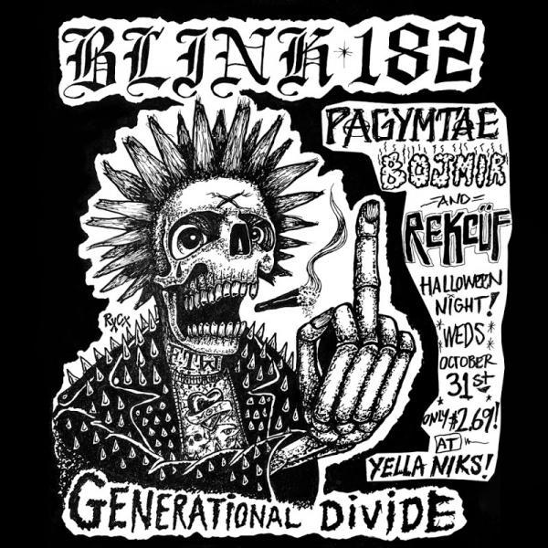 Blink 182 Generational Divide Single  (2019) Entitled