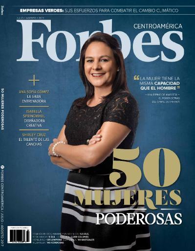 Forbes Central America  Julio Agosto (2017)
