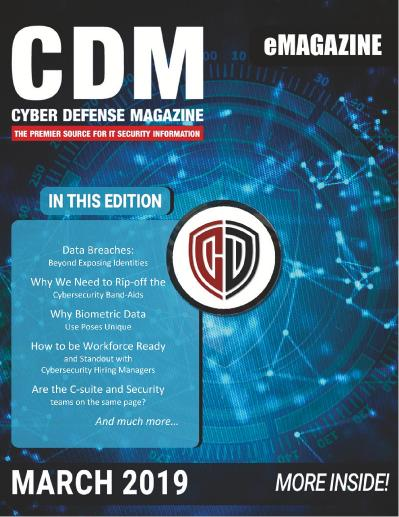 Cyber Defense Magazine   March (2019)