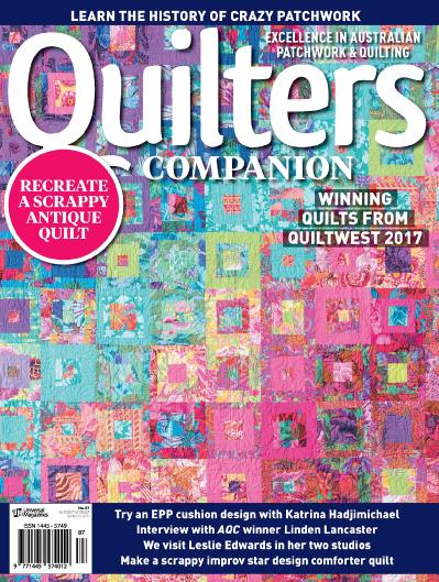 Quilters Companion  September-October (2017)