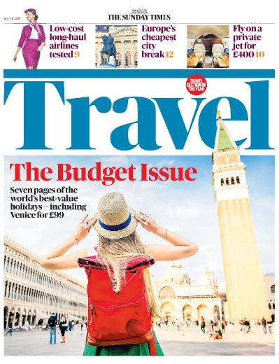 The Sunday Times Travel 23 July (2017)