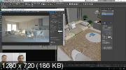 Corona от А до Я + Интерьерная визуализация в 3Ds Max. Видеокурс (2019)