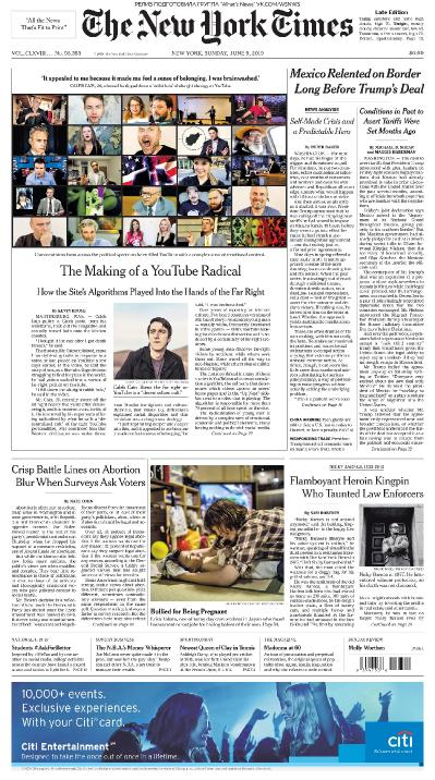 The New York Times 09 06 (2019)