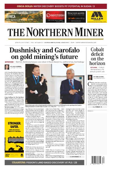 The Northern Miner  June 26  July 9 (2017)