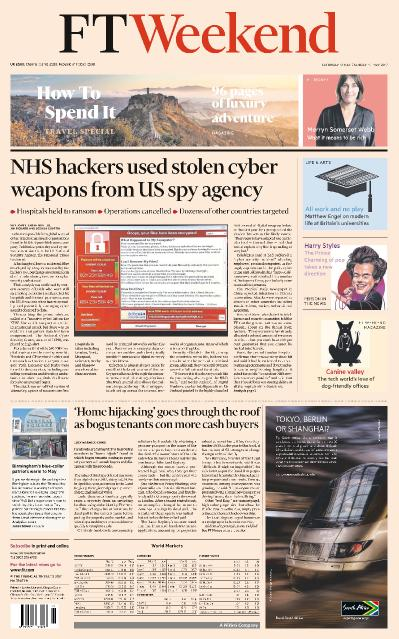 Financial Times UK  13 May (2017)