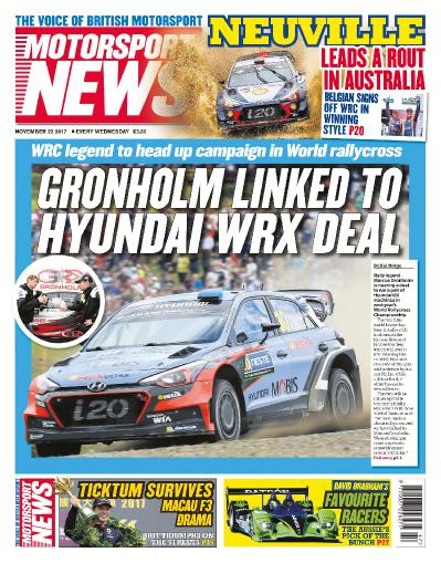 Motorsport News  November 22 (2017)