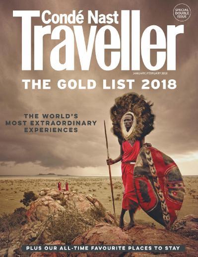 Conde Nast Traveller UK  January (2018)