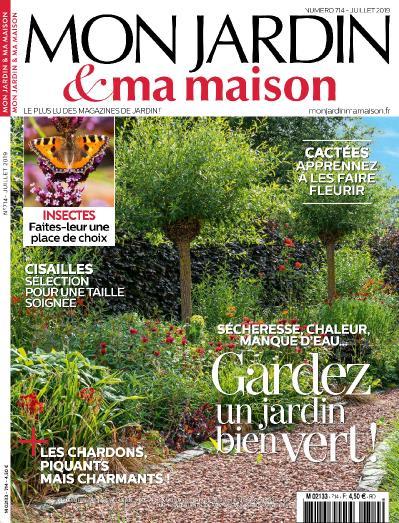 Mon Jardin et Ma Maison N 714 Juillet (2019)