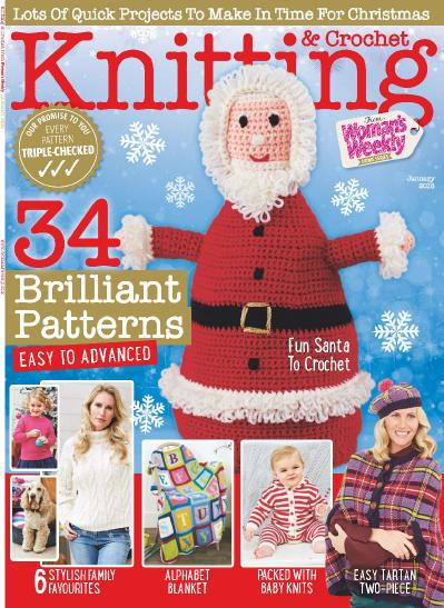 Knitting & & Crochet from Woman s Weekly January (2018)