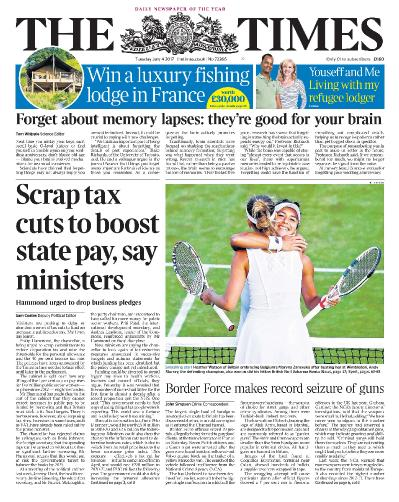 The Times  4 July (2017)