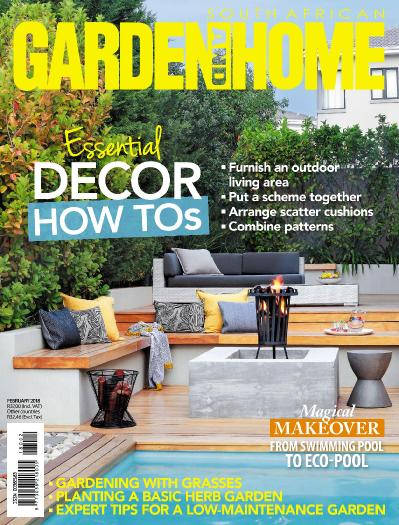 South African Garden and Home February (2018)