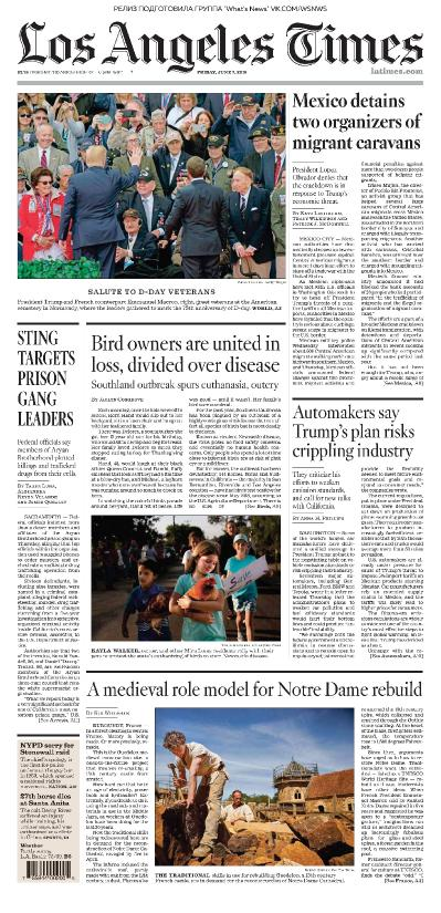 Los Angeles Times   07 06 (2019)