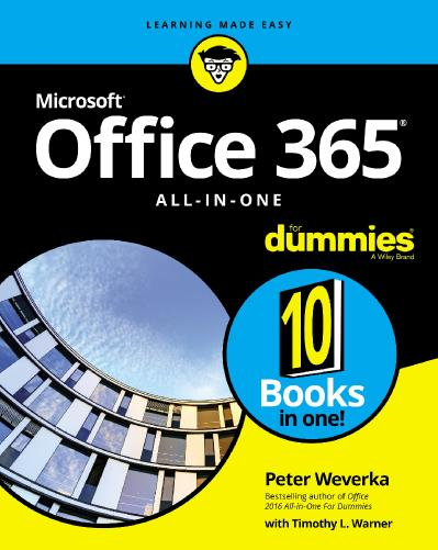 Office 365 All in One For Dummies