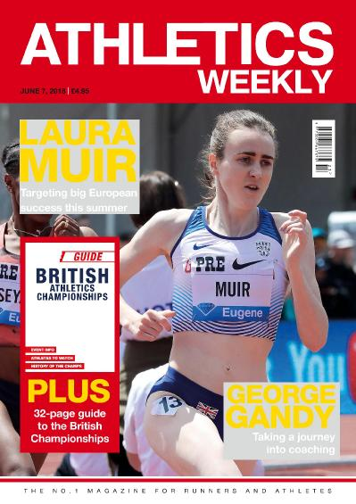 Athletics Weekly  01 June (2018)