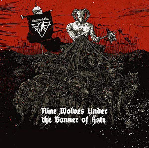 Va Nine Wolves Under The Banner Of Hate  (2015) Klv