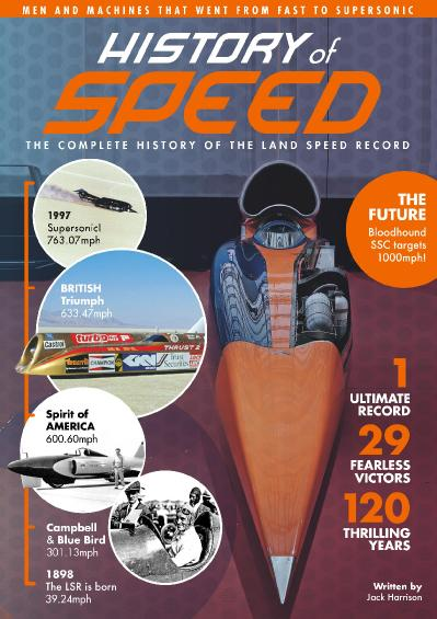 History of Speed The complete history of the land speed record