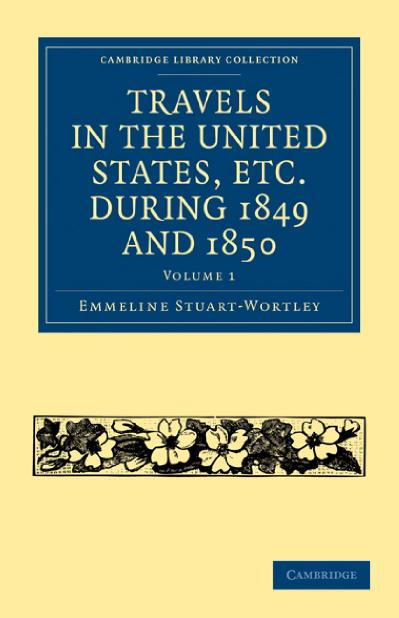 Travels in the United States, etc during 1849 and (1850)