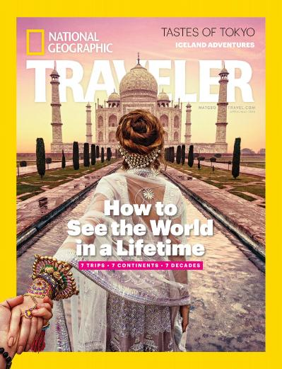 National Geographic Traveler USA   April   May (2016)