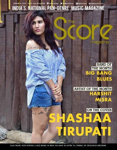 The Score Magazine   August (2018)