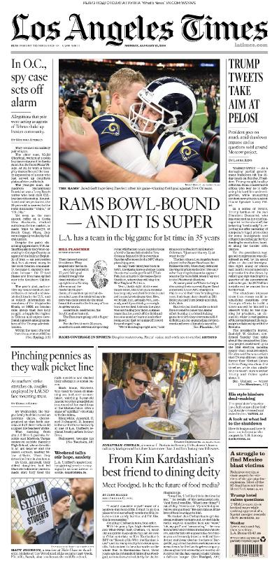 Los Angeles Times   21 01 (2019)