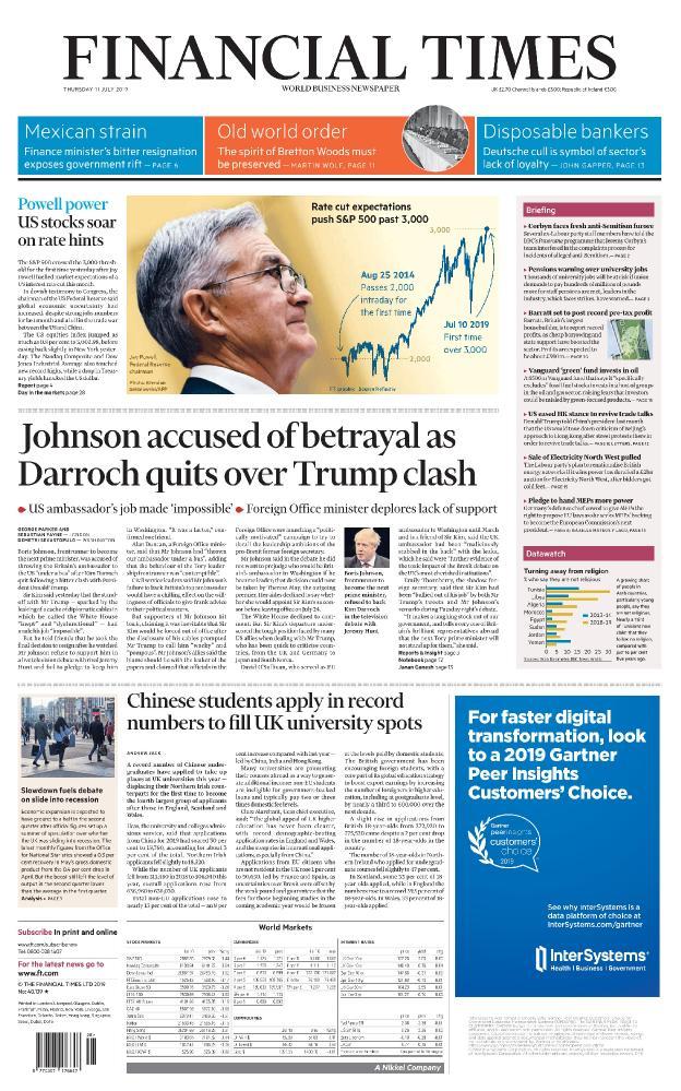 Financial Times (UK) - No  40,139 [11 Jul 2019]