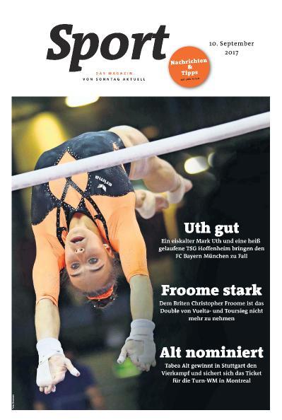 Sport Magazin  10 September (2017)