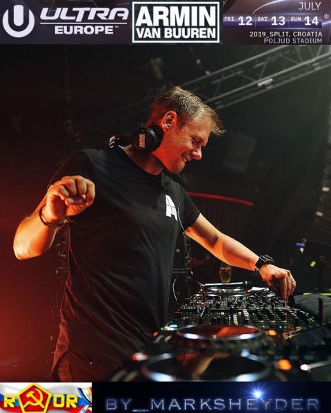 Armin van Buuren - live at Ultra Europe (2019) WEBRip 1080p скачать торрентом