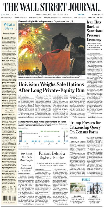 The Wall Street Journal   05 07 (2019)