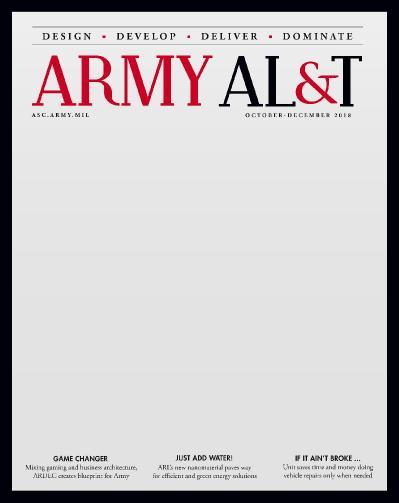Army AL & & T Magazine   October December (2018)