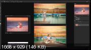 Обработка Photoshop. Летний закат (2019) HDRip