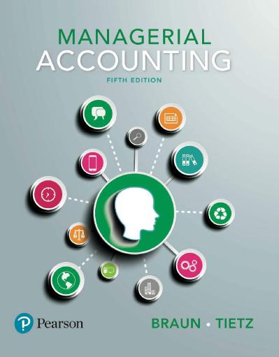 Managerial Accounting, 5th Edition