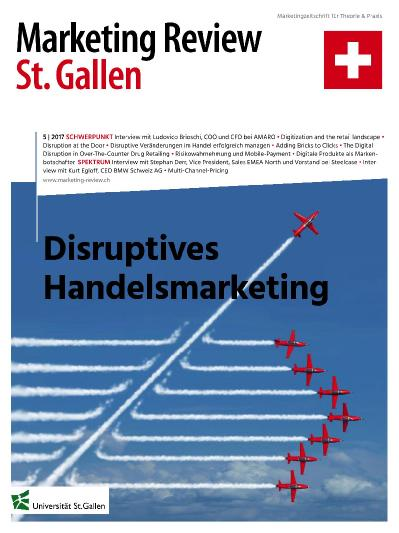 Marketing Review St Gallen  Nr 5 (2017)