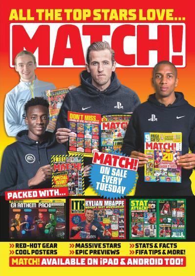 Match !  June 25 (2019)