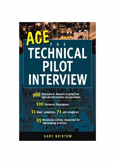 Ace the Technical Pilot Interview Gary Bristow