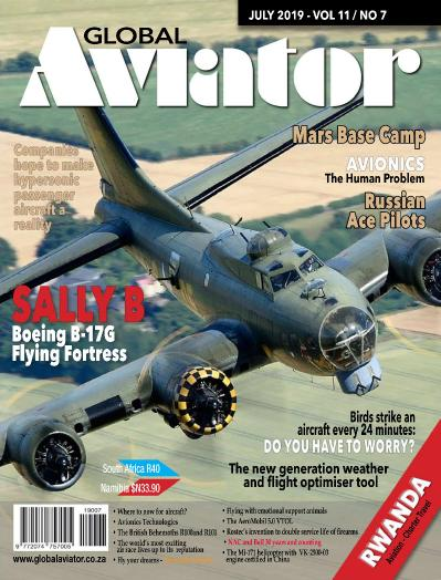 Global Aviator South Africa  July (2019)