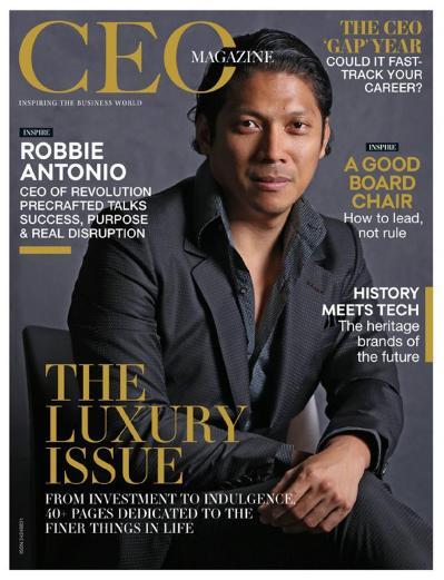 The CEO Magazine Asia   September (2018)