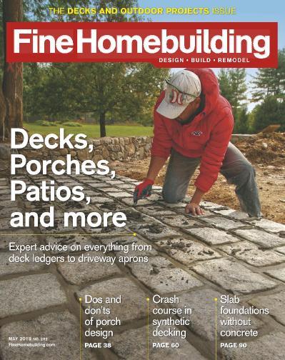 Fine Homebuilding   May (2019)