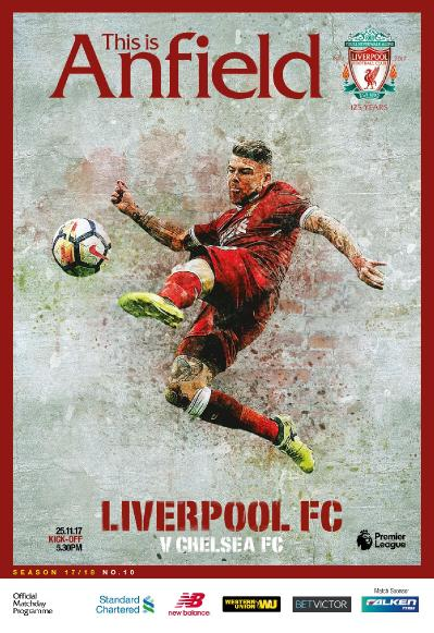 This is Anfield  Liverpool FC vs Chelsea FC  25 November (2017)