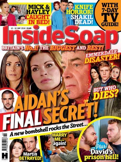 Inside Soap UK   12 May (2018)