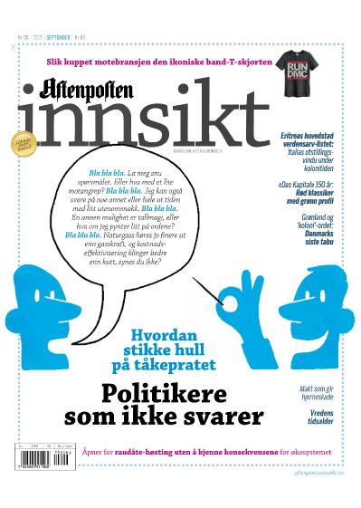 Aftenposten Innsikt  september (2017)