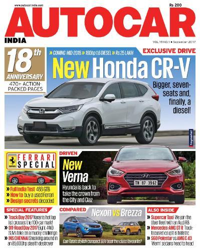 Autocar India  September (2017)