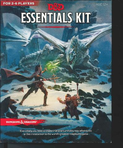 D&D   Essential  Box Front