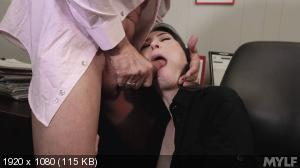 Angelina Diamanti - Dripping Cooch In The Corner Office [1080p]