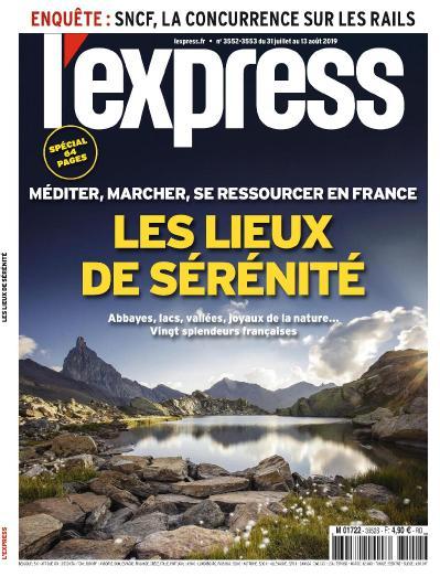 L Express N 3552 3553 Du 31 Juillet (2019)