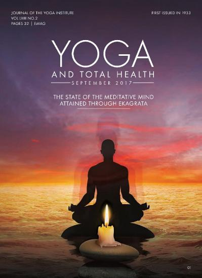 Yoga and Total Health  September (2017)