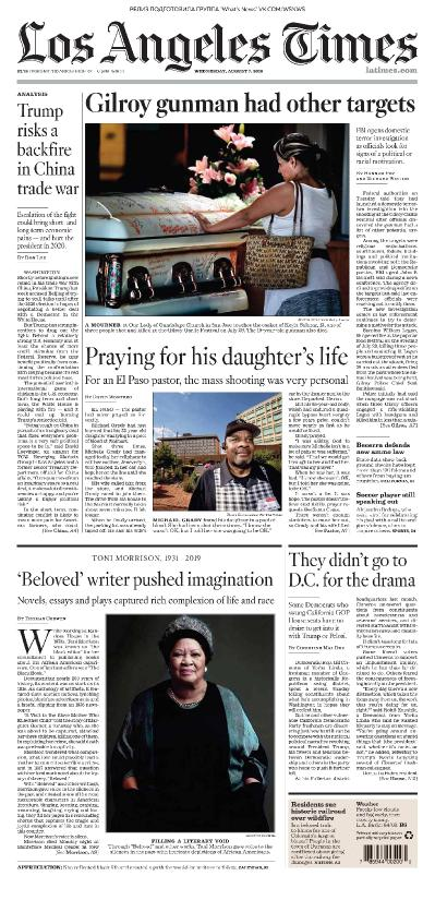 Los Angeles Times   07 08 (2019)