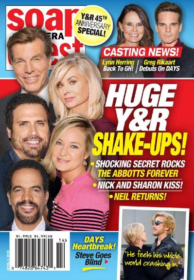 Soap Opera Digest   April 02 (2018)